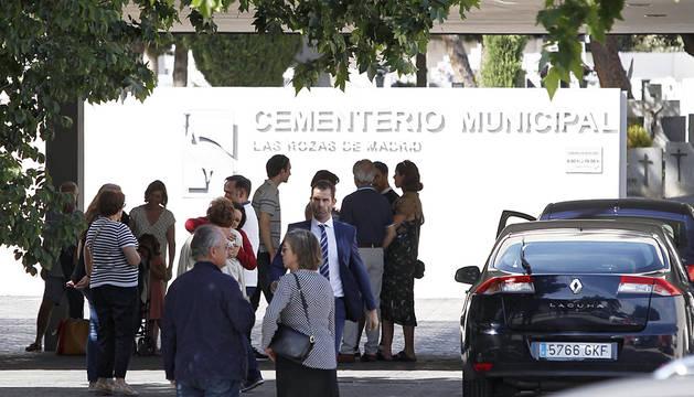 Último adiós en Las Rozas a Ignacio Echeverría