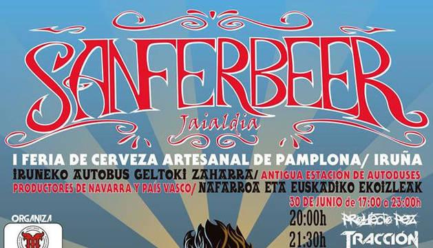 Cartel de la feria Sanferbeer.