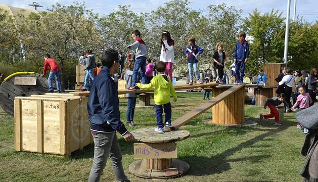 La Taconera acogerá un nuevo espacio infantil en Sanfermines