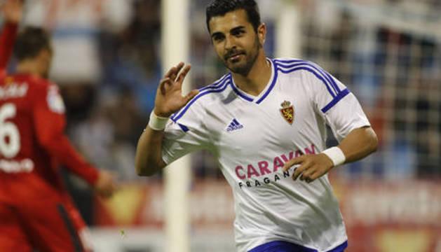 Ángel, goleador del Zaragoza.
