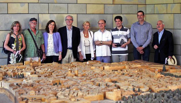 Imagen de la presentación del Archivo de la Música y de las Artes Escénicas de Navarra.