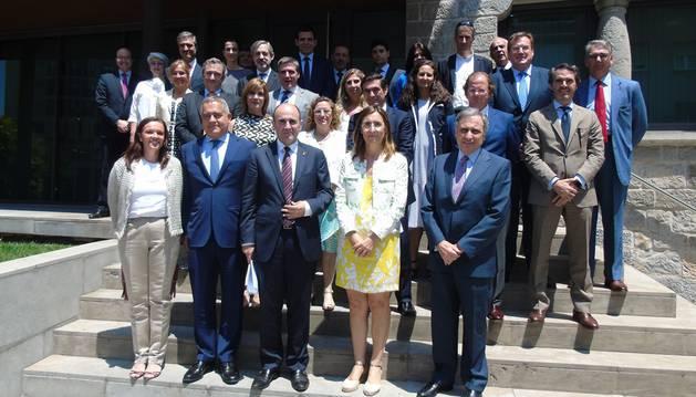foto de Asistentes a la jornada de CEN y CEAPI sobre Iberoamérica.
