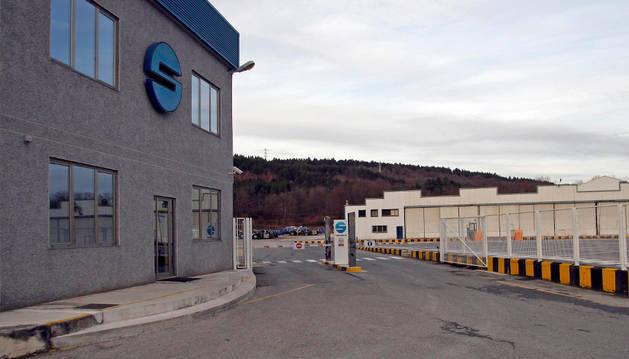 Foto de Sunsundegui es la última gran empresa ubicada en Alsasua tras los cierres de Arfe y Gamesa.