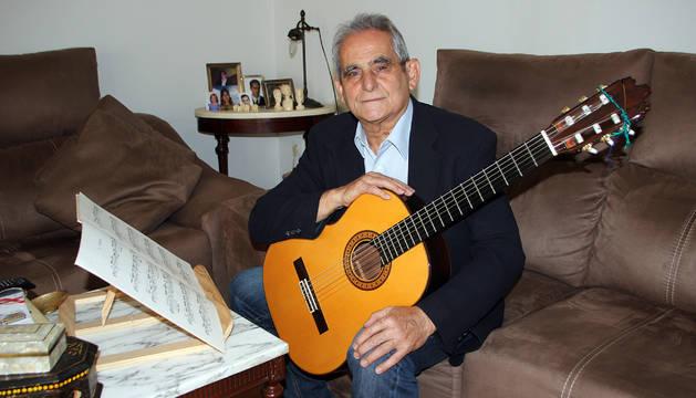 Antonio Galindo Miguel, en su domicilio de Milagro.