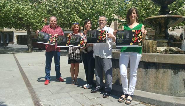 Jorge Ruiz Luzuriaga, Ana Arribas, Loreto San Martín, Jesús Astarriaga y Laura Ros.