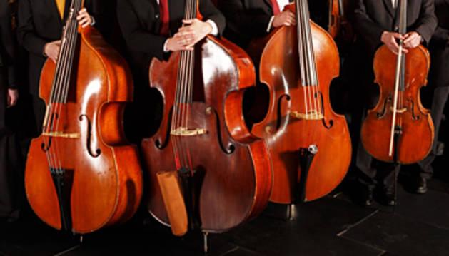 Homenaje de la Orquesta Sinfónica de Navarra  a Jesús García Leoz