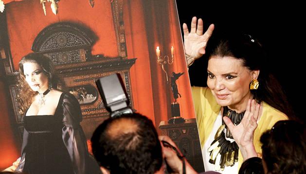 María José Cantudo, musa del terror en la Semana de Cine de San Sebastián