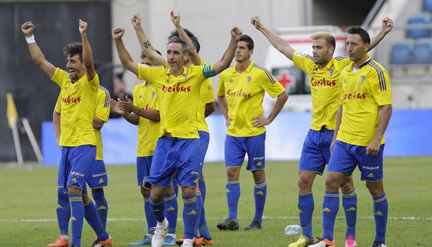 Jugadores del Cádiz.