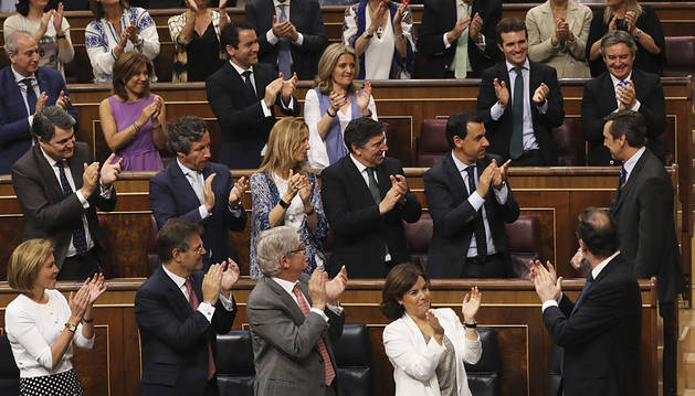 Rechazada la moción de censura de Iglesias contra Rajoy