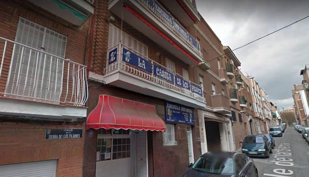 Guardería 'La casita de los Pitufos' en Madrid donde falleció el bebé.