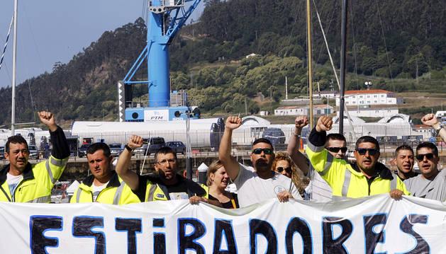 La huelga de estibadores vuelve a paralizar los puertos españoles