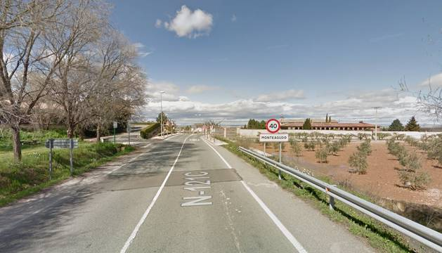 Entrada de Monteagudo.