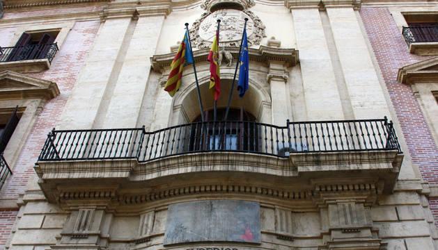 Fachada del Tribunal de Justicia de Valencia