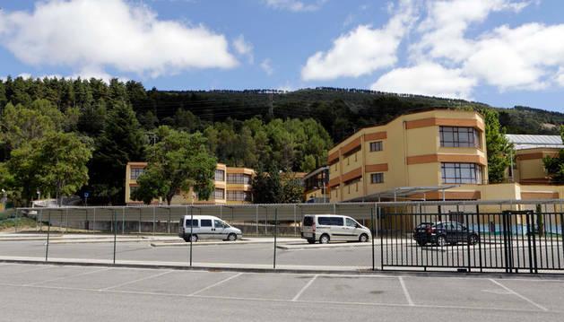 Imagen del colegio público de Berriozar.
