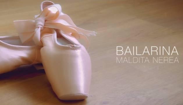 Imagen del videoclip de 'Bailarina'.