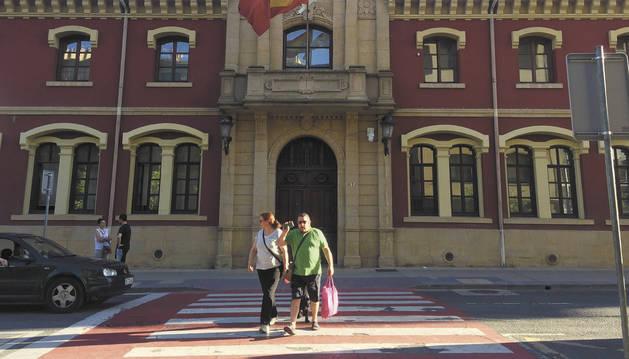 Imagen del Ayuntamiento de Estella.