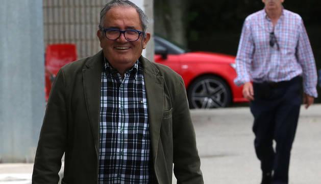 Luis Sabalza, en una imagen reciente en las instalaciones de Tajonar.