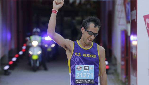 Imágenes de la carrera San Fermín Marathon de Pamplona