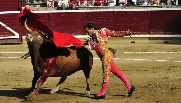 El toreo de Fandiño en Navarra