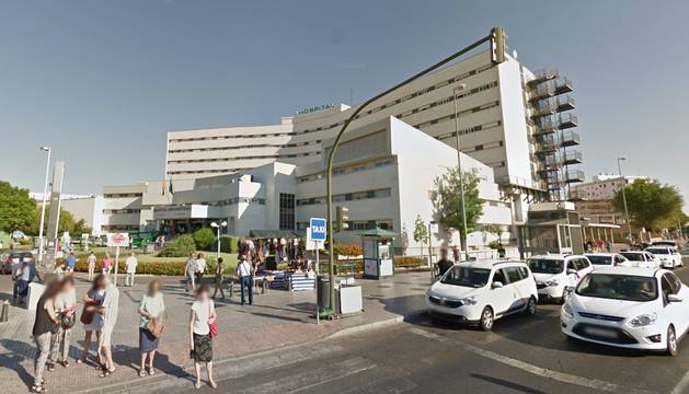 Hospital Virgen Macarena de Sevilla, en cuya Unidad de Cuidados Intensivos (UCI) permanecía ingresado el bebé.