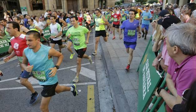 Participantes en la prueba de 10 kilómetros.