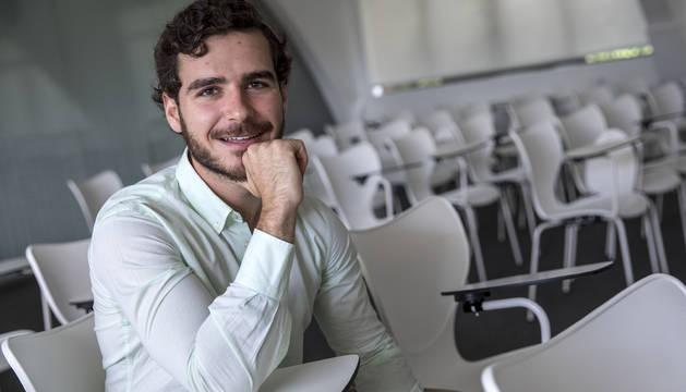 Bosco Emparanza García es uno de los fundadores de la start-up Biotech Service.