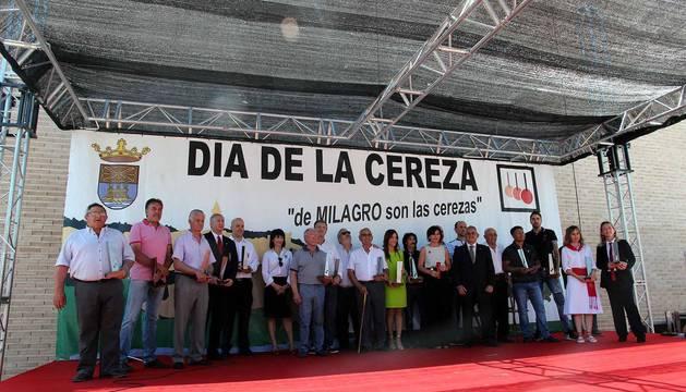 Imágenes de la XVIII Fiesta de la Cereza de Milagro.