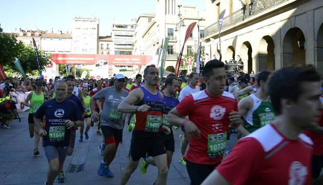 Imágenes de la San Fermín Marathon 2017 (VI)
