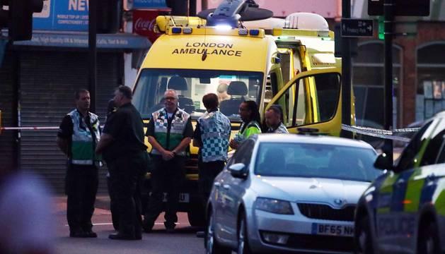 Ataque junto a una mezquita en Londres