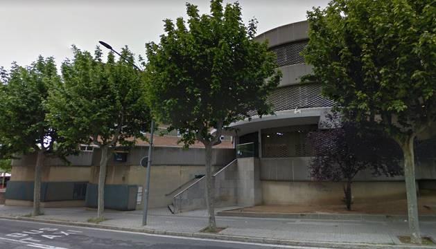 Vista de la comisaría de Policía Nacional en Mataró