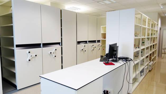 Imagen de las instalaciones de la nueva oficina de farmacia sociosanitaria.