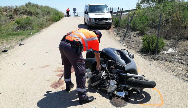 Un herido grave en un accidente de tráfico ocurrido en Fontellas