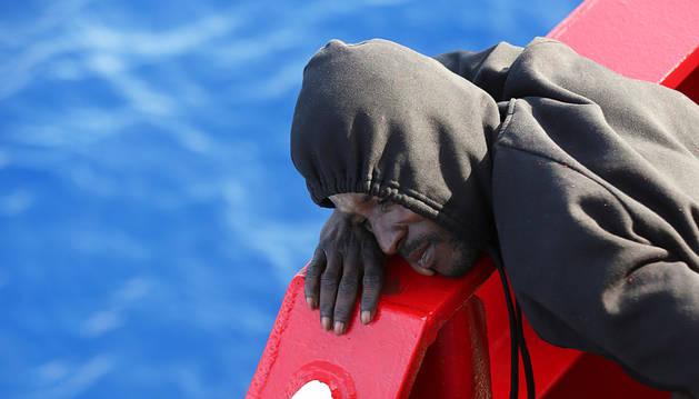 Al menos 126 inmigrantes mueren en un naufragio en el Mediterráneo