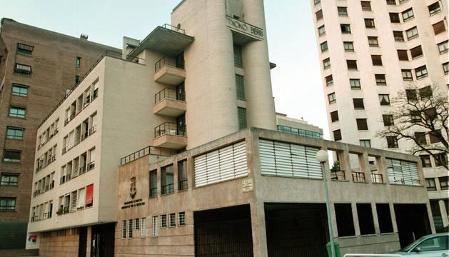 Apartamentos tutelados Txoko Berri en el barrio pamplonés de San Juan.