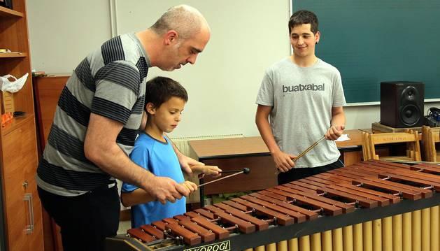 Imágenes de la escuela de música de Bera Isidro Fagoaga