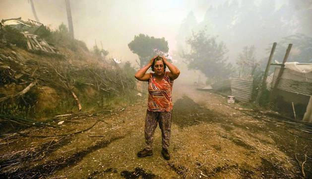 El incendio de Portugal, en imágenes