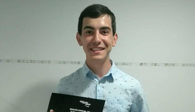 Natxo Lapieza, mención especial en los premios Buero Vallejo