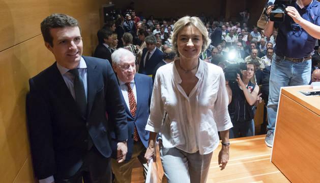 Foto de la ministra de Agricultura y Pesca, Alimentación y Medio Ambiente, Isabel García Tejerina.