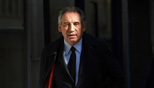 Foto del hasta ahora minisro de Justicia, François Bayrou.