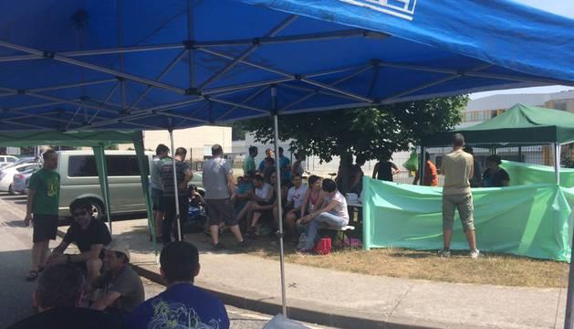 Jornada de huelga en la empresa Agrozumos de Lekunberri
