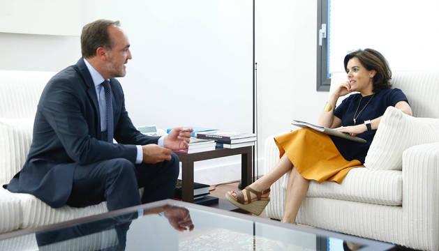 Navarra y Fomento abordarán el TAV la semana que viene