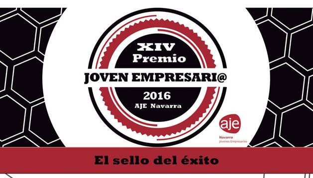 foto de los premios joven empresario navarro 2016