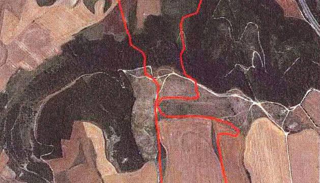 Los incendios de Galar, Arazuri y Añorbe afectaron a 175 hectáreas