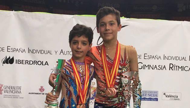 Tres navarros suben al podio en el Campeonato de España