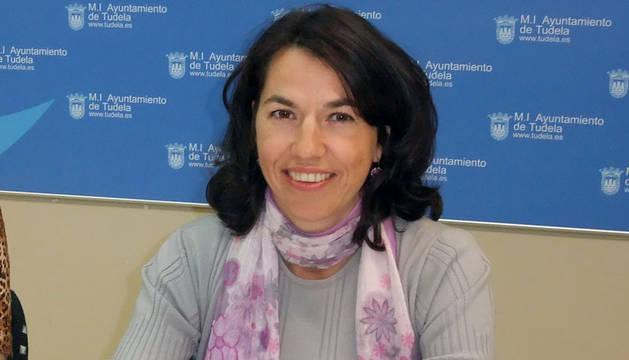 Olga Chueca responsable del área municipal de Bienestar Social de Tudela