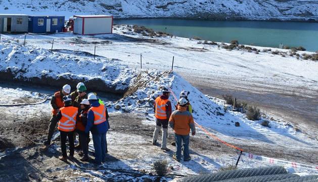 El lugar de las prospecciones mineras al sur de Chile