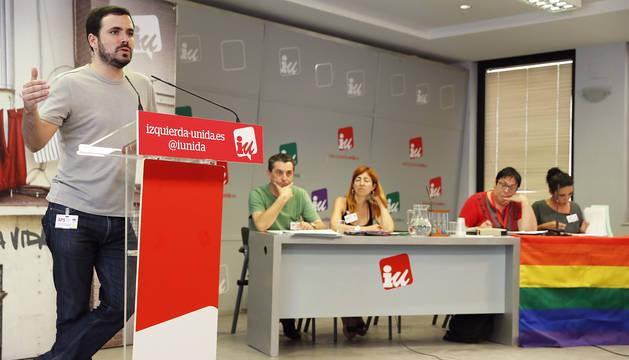 Garzón pide más visibilidad y reconocimiento para IU