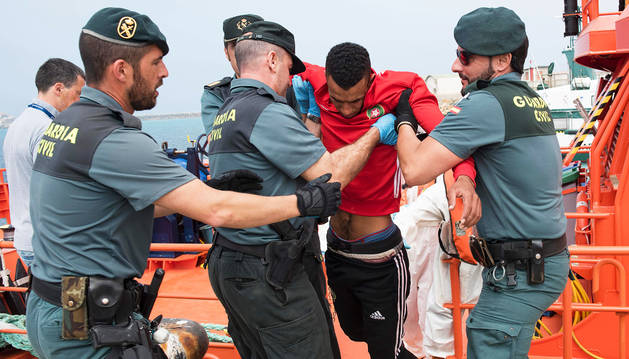 Rescatados 143 indocumentados frente a las costas españolas