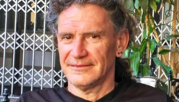 Luis Etxeberria Uharte, vecino de Estella de 58 años, en una imagen reciente