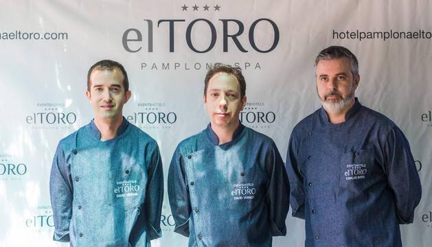 El equipo de cocina de NH El Toro